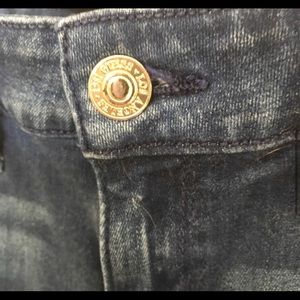 Guess Jeans - Guess Jeans Power Skinny Low Dark Wash Size 25